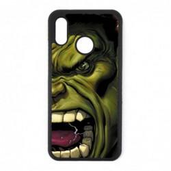 Coque noire pour Huawei P20 Lite Monstre Vert Hulk Hurlant