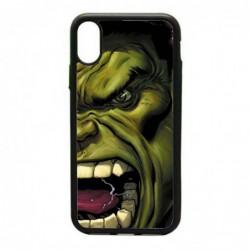 Coque noire pour IPHONE 6/6S Monstre Vert Hulk Hurlant