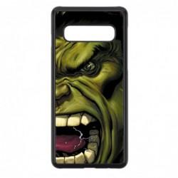 Coque noire pour Samsung S10 Monstre Vert Hulk Hurlant