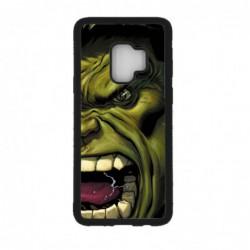 Coque noire pour Samsung S9 Monstre Vert Hulk Hurlant