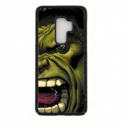 Coque noire pour Samsung S9 PLUS Monstre Vert Hulk Hurlant
