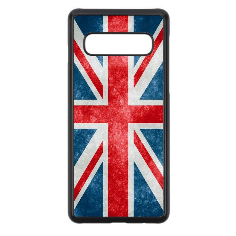 Coque noire pour Samsung J730 Drapeau Royaume uni - United Kingdom Flag