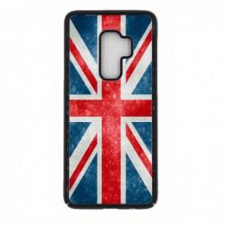 Coque noire pour Samsung S9 PLUS Drapeau Royaume uni - United Kingdom Flag