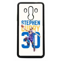 Coque noire pour Huawei Mate 10 Pro Stephen Curry Basket NBA Golden State