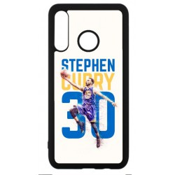 Coque noire pour Huawei P30 Lite Stephen Curry Basket NBA Golden State