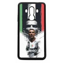 Coque noire pour Huawei Mate 10 Pro Ronaldo CR7 Juventus Foot