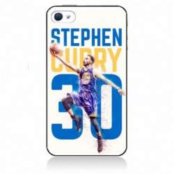Coque noire pour IPHONE 4/4S Stephen Curry Basket NBA Golden State