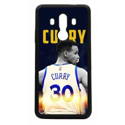 Coque noire pour Huawei Mate 10 Pro Stephen Curry Golden State Warriors Basket 30