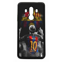 Coque noire pour Huawei Mate 10 Pro Lionel Messi 10 FC Barcelone Foot