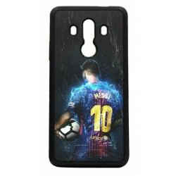Coque noire pour Huawei Mate 10 Pro Lionel Messi FC Barcelone Foot