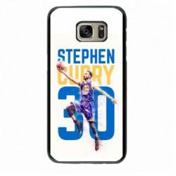 Coque noire pour Samsung S6 Edge Plus Stephen Curry Basket NBA Golden State