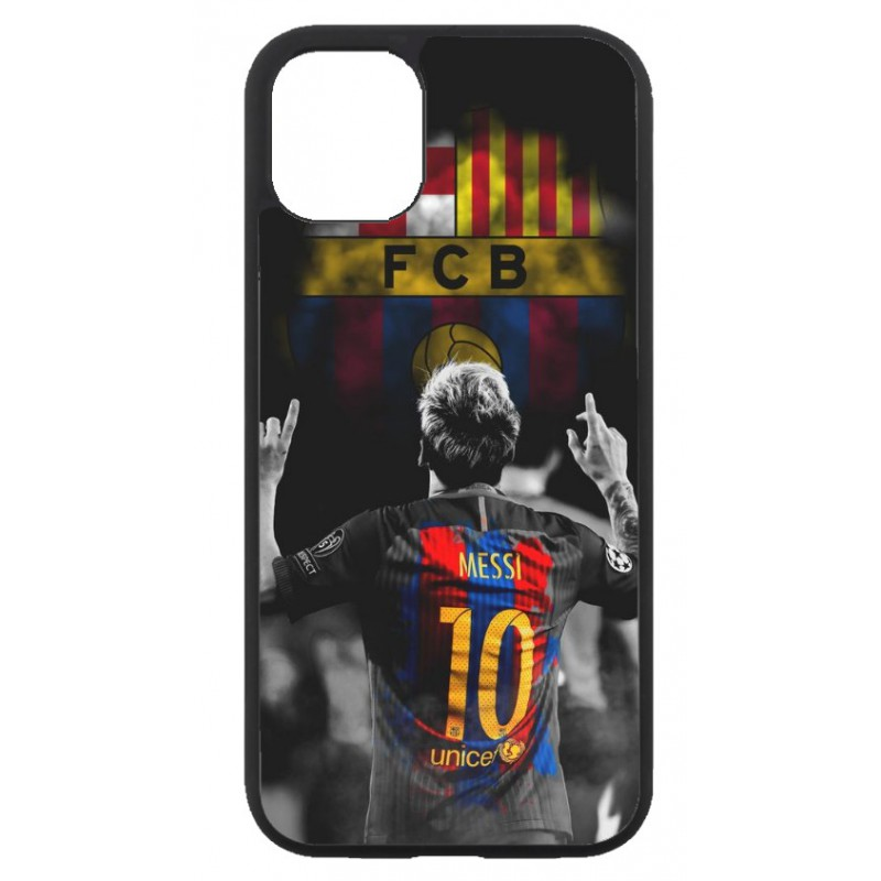 Coque noire pour Iphone 11 Lionel Messi FC Barcelone Foot