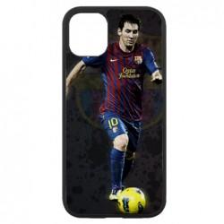 Coque noire pour Iphone 11 Messi Lionel Barcelone Club Barça Football numéro 10