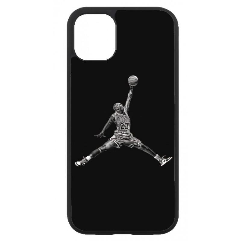 Coque noire pour Iphone 11 Michael Jordan 23 shoot Chicago Bulls Basket