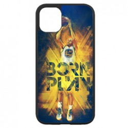 Coque noire pour Iphone 11 PRO Stephen Curry NBA Golden State Born to Play