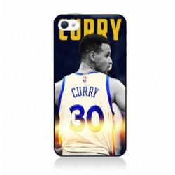 Coque pour IPHONE 5C Stephen Curry Golden State Warriors Basket 30 - contour noir (IPHONE 5C)
