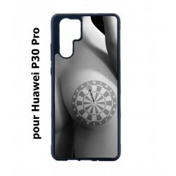 Coque noire pour Huawei P30 Pro coque sexy Cible Fléchettes - coque érotique