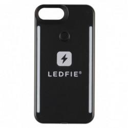 COQUE LEDFIE NOIRE PREMIUM IPHONE 6S+/7+/8+