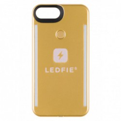 COQUE LEDFIE OR PREMIUM IPHONE 6S+/7+/8+