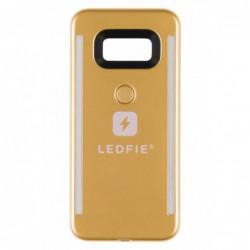 COQUE LEDFIE OR PREMIUM SAMSUNG S8+