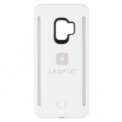 COQUE LEDFIE BLANCHE PREMIUM SAMSUNG S9