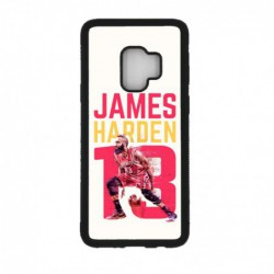 Coque noire pour Samsung Galaxy A3 - A300 star Basket James Harden 13 Rockets de Houston