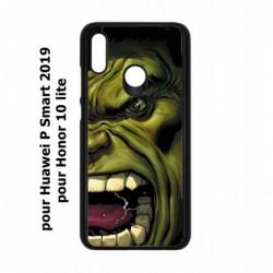 Coque noire pour Huawei P Smart 2019 Monstre Vert Hulk Hurlant