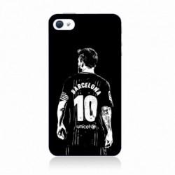 Coque noire pour IPHONE X Lionel Messi FC Barcelone Foot