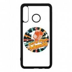 Coque noire pour Huawei Mate 10 Pro coque thème musique grunge - Let's Play Music