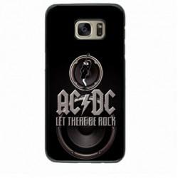 Coque noire pour IPHONE 7/8 groupe rock AC/DC musique rock ACDC