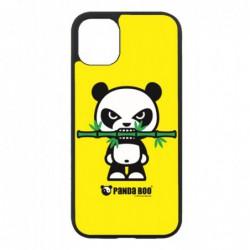 Coque noire pour Samsung Tab 3 10p P5220 PANDA BOO® Bamboo à pleine dents - coque humour