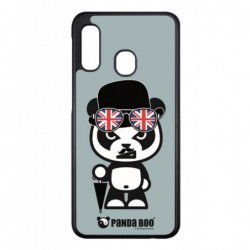 Coque noire pour Samsung Ace 3 i7272 PANDA BOO® So British  - coque humour