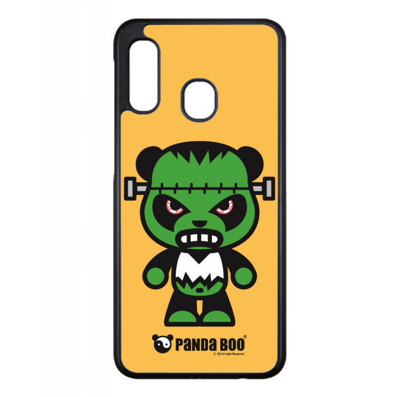 Coque noire pour Samsung Ace Plus S7500 PANDA BOO® Frankenstein monstre - coque humour
