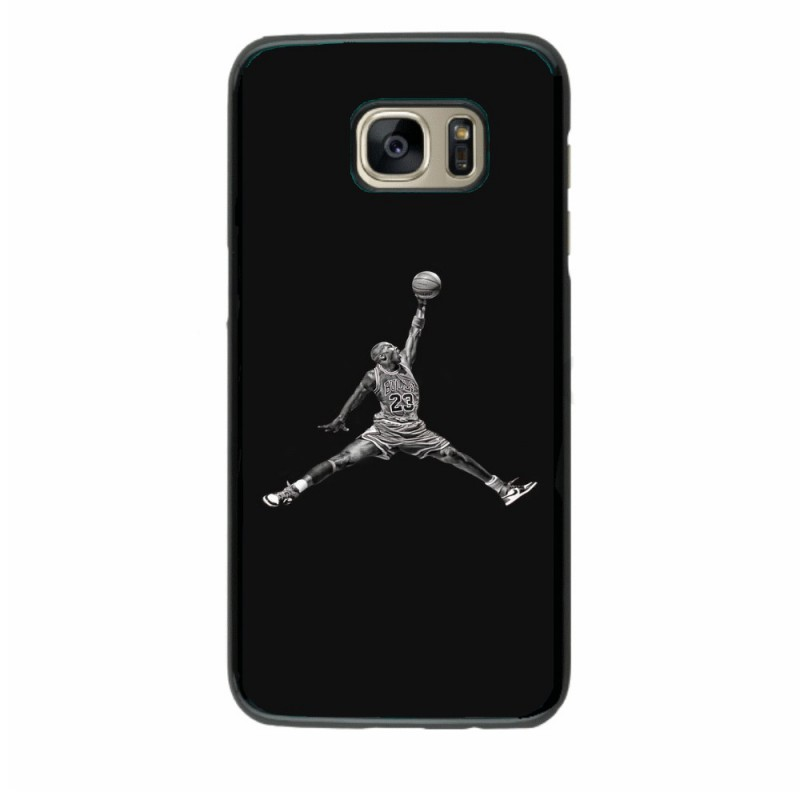 Coque noire pour Samsung i9150 Michael Jordan 23 shoot Chicago Bulls Basket
