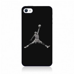 Coque noire pour IPOD TOUCH 5 Michael Jordan 23 shoot Chicago Bulls Basket