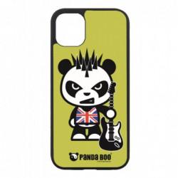 Coque noire pour Samsung Tab 3 10p P5220 PANDA BOO® Punk Musique Guitare - coque humour
