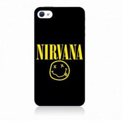 Coque noire pour IPHONE 6/6S Nirvana Musique