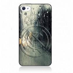 Coque noire pour IPOD TOUCH 4 emblème Real Madrid club foot Ronaldo