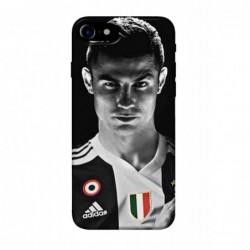 Coque noire pour IPHONE 5C Cristiano Ronaldo Juventus