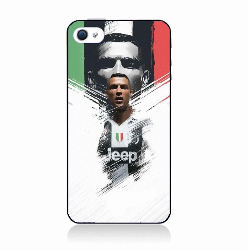 Coque noire pour IPOD TOUCH 5 Ronaldo CR7 Juventus Foot