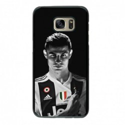 Coque noire pour Samsung Grand Prime Cristiano Ronaldo Juventus