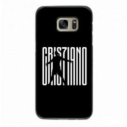 Coque noire pour Samsung i8262 Cristiano Ronaldo Juventus Turin Football gros caractères