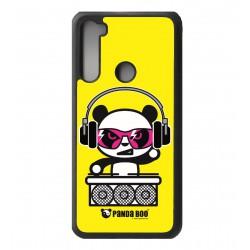 Coque noire pour Xiaomi Redmi Note 8 PANDA BOO© DJ music - coque humour