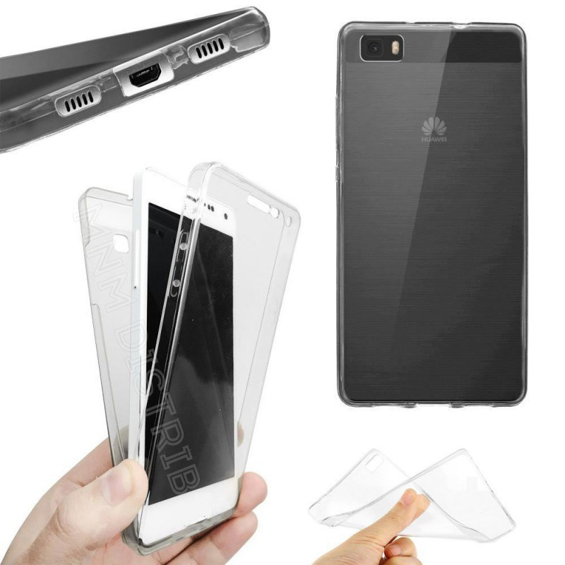 Coque Intégrale 360° smartphone pour Huawei P8