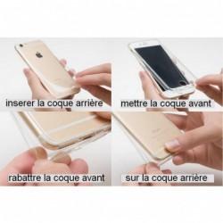 Coque Intégrale 360° smartphone pour Samsung Galaxy E5