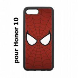 Coque noire pour Honor 10 les yeux de Spiderman - Spiderman Eyes - toile Spiderman