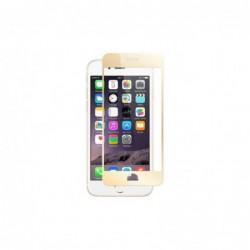 Verre Trempé pour smartphone IPHONE 6plus/6Splus vitre incurvée couleur Or