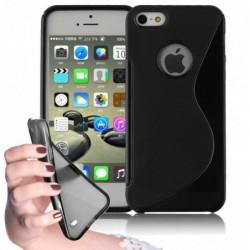 coque S-Line noire pour smartphone Iphone 5C