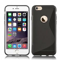 coque S-Line noire pour smartphone IPHONE 6 Plus (5