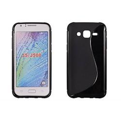 "coque S-Line noire pour smartphone Samsung Galaxy J5 ""SM-J500F"""
